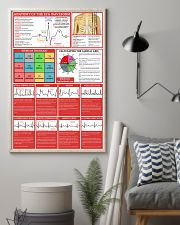 Paramedic Anatomy Of The EGC Waveform 11x17 Poster lifestyle-poster-1