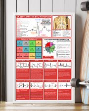 Paramedic Anatomy Of The EGC Waveform 11x17 Poster lifestyle-poster-4