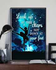 Ballet look up at the stars not down at your feet 11x17 Poster lifestyle-poster-2