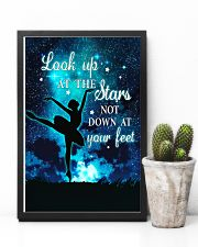Ballet look up at the stars not down at your feet 11x17 Poster lifestyle-poster-8