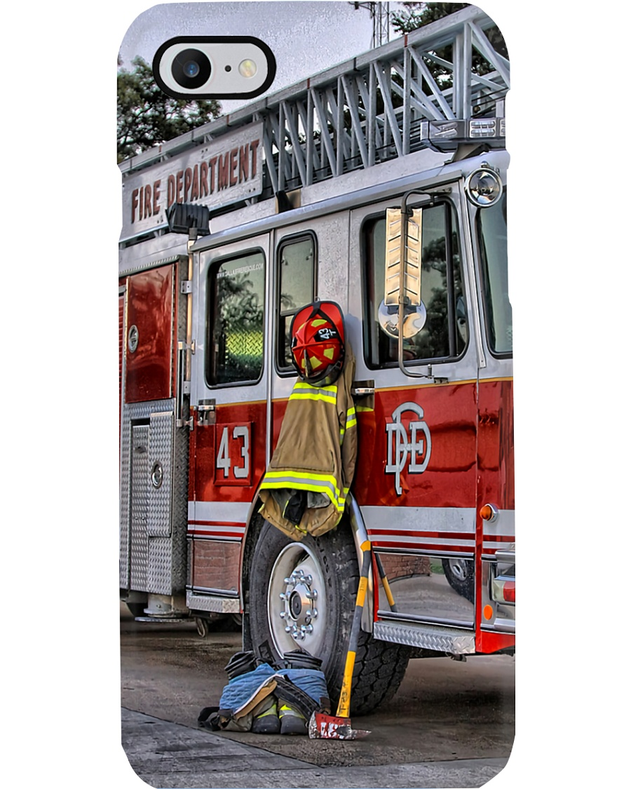 Firefighter Fire Department Phone Case