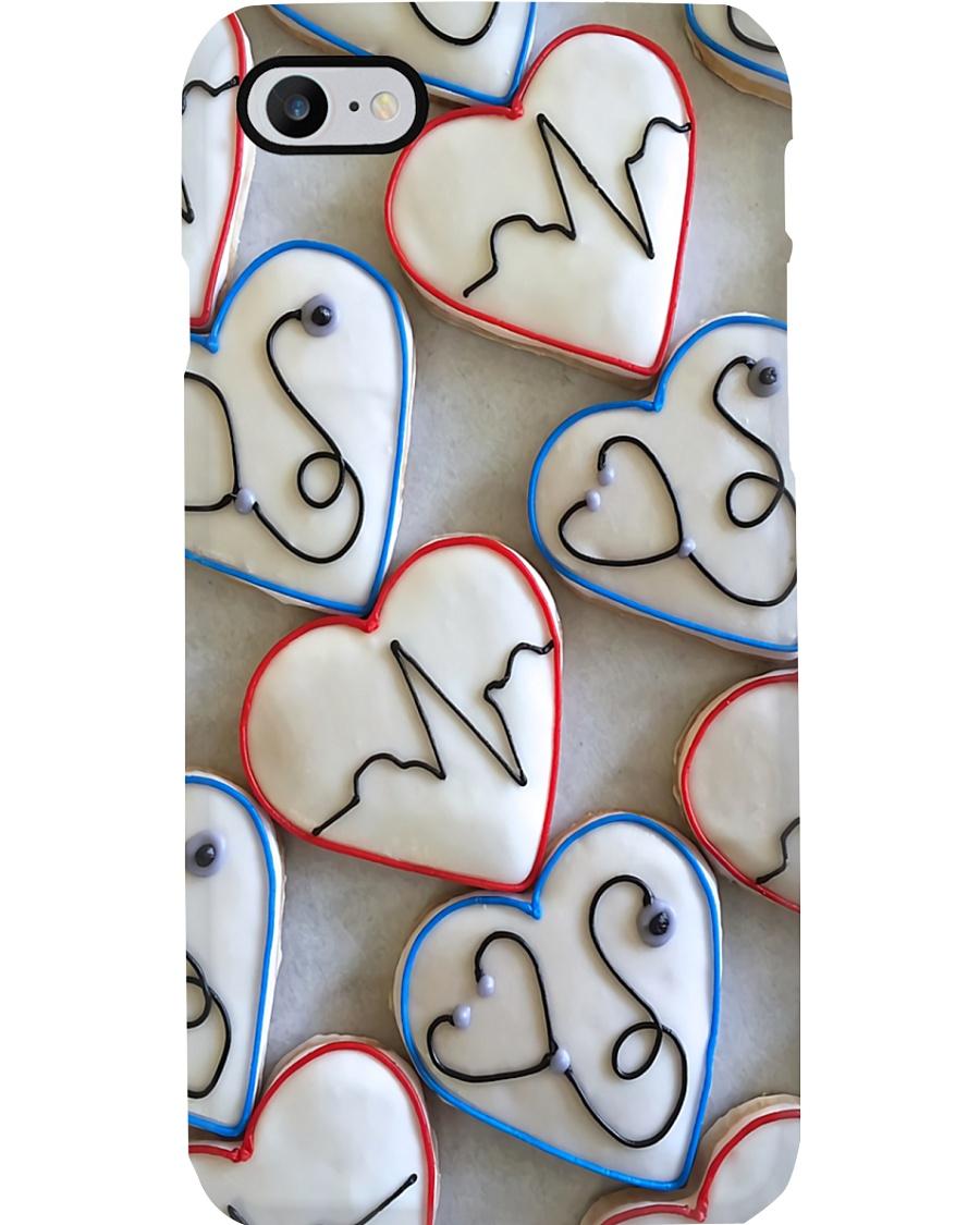 Paramedic Chocolate Icon Hearts Phone Case