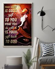 DJ Your Talent Is God's Gift To You 11x17 Poster lifestyle-poster-1