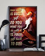 DJ Your Talent Is God's Gift To You 11x17 Poster lifestyle-poster-2
