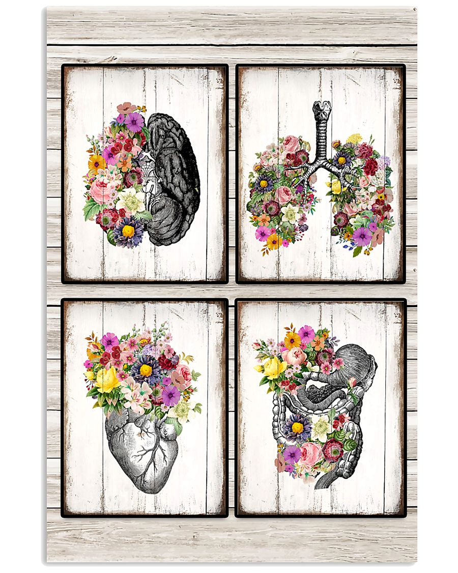 Paramedic Brain Lung Heart 11x17 Poster