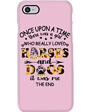Horses And Dogs Phone Case thumbnail
