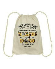 Horses And Dogs Drawstring Bag thumbnail