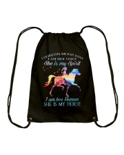 She Is My Horse Kid Version Drawstring Bag thumbnail