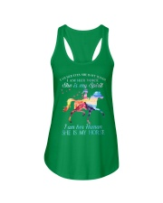 She Is My Horse Kid Version Ladies Flowy Tank front