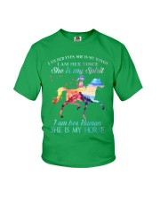 She Is My Horse Kid Version Youth T-Shirt front