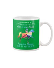 She Is My Horse Kid Version Mug front