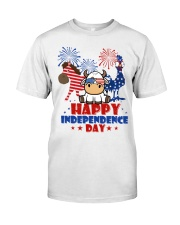 Happy Independence Day  Classic T-Shirt front