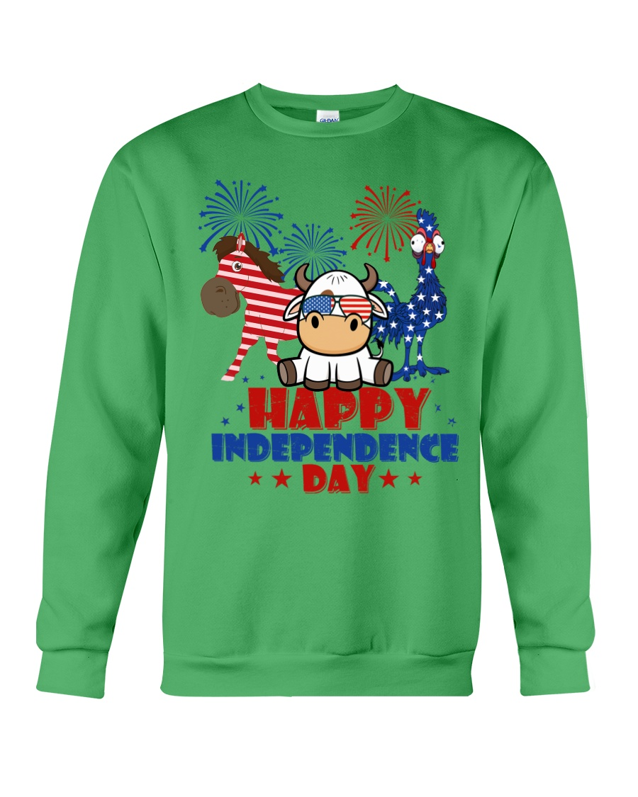 Happy Independence Day  Crewneck Sweatshirt