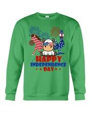 Happy Independence Day  Crewneck Sweatshirt front