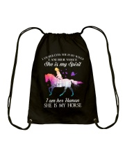 She Is My Horse Drawstring Bag tile