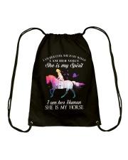 She Is My Horse Drawstring Bag thumbnail