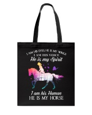He Is My Horse Tote Bag thumbnail