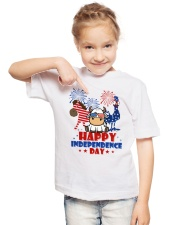 Happy Independence Day  Youth T-Shirt lifestyle-youth-tshirt-front-2