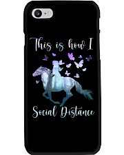 This Is How I Social Distance Phone Case thumbnail