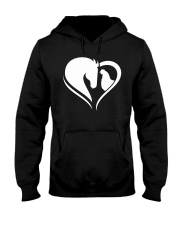 Horse And Chicken  Hooded Sweatshirt thumbnail