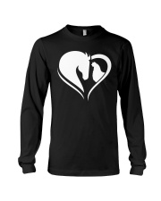 Horse And Chicken  Long Sleeve Tee thumbnail