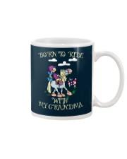 Born To Ride With My Grandma Mug thumbnail