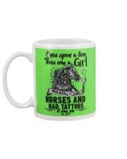 Horses And Tattoos Mug back