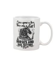 Horses And Tattoos Mug tile