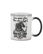 Horses And Tattoos Color Changing Mug thumbnail