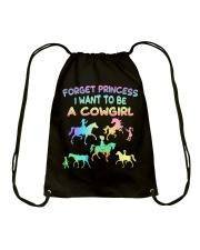 I Want To Be A Cowgirl  Drawstring Bag thumbnail