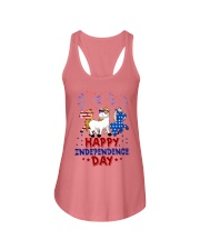 Happy Independence Day  Ladies Flowy Tank thumbnail