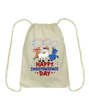 Happy Independence Day  Drawstring Bag thumbnail