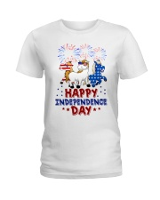 Happy Independence Day  Ladies T-Shirt thumbnail