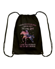 He Is My Horse New  Drawstring Bag thumbnail