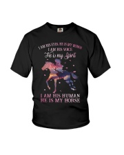 He Is My Horse New  Youth T-Shirt thumbnail