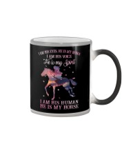 He Is My Horse New  Color Changing Mug thumbnail