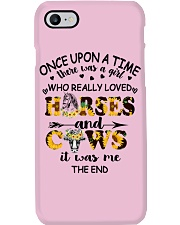 Horses And Cows Phone Case thumbnail