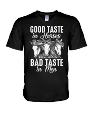 Good Taste In Horses  V-Neck T-Shirt thumbnail