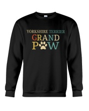 Yorkshire Terrier Grandpaw Crewneck Sweatshirt tile