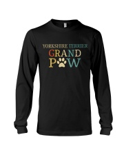 Yorkshire Terrier Grandpaw Long Sleeve Tee thumbnail