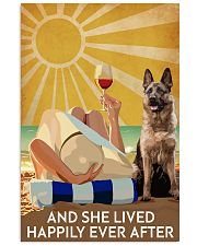 German Shepherd And She Lived Happily Ever After 11x17 Poster front