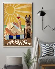German Shepherd And She Lived Happily Ever After 11x17 Poster lifestyle-poster-1