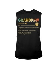 Grandpaw Someone who works hard so his dogs Sleeveless Tee thumbnail