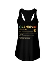 Grandpaw Someone who works hard so his dogs Ladies Flowy Tank thumbnail