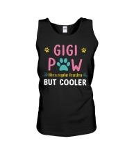 Gigi Paw Like A Regular Grandma But Cooler Unisex Tank thumbnail