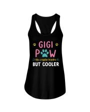 Gigi Paw Like A Regular Grandma But Cooler Ladies Flowy Tank thumbnail