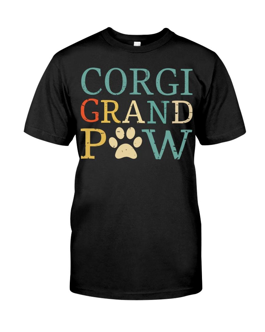 Corgi Grandpaw Classic T-Shirt