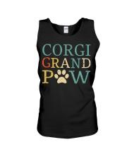 Corgi Grandpaw Unisex Tank thumbnail