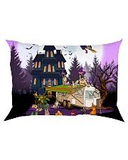 German Shepherd - Halloween - Camping Rectangular Pillowcase tile