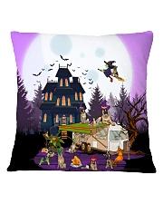 German Shepherd - Halloween - Camping Square Pillowcase tile